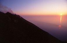 Sciara del Fuego auf Stromboli (März)
