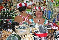 Le Marché in Papeete (Juli)