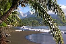 Traumstrand Venus Point auf Tahiti (Juni)