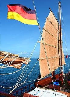 Segelschiff Dauw Talae (März)