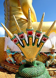 Tigercave Temple Wat Tham Sua bei Krabi (Juli)