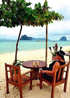 raumstrand beim Mayalay Resort auf der Insel Ko Ngai (September)