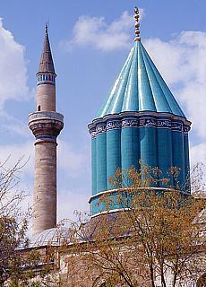 Mevlana Kloster in Konya (Februar)
