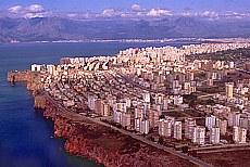 Anflug auf Antalya (Juli)