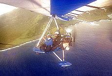 Ultralight Fliegen auf Maui (Juli)
