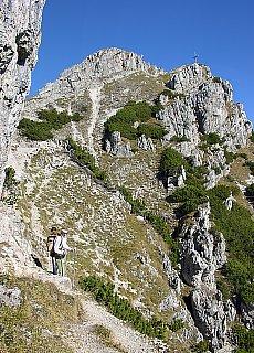 Wandern auf die Kramerspitze (März)